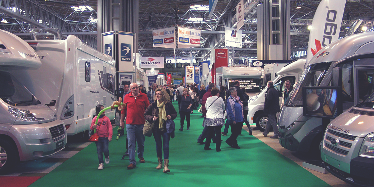 Beautiful Motorhome Amp Caravan Show 2014 Opens At NEC  Blue Sky Thinking