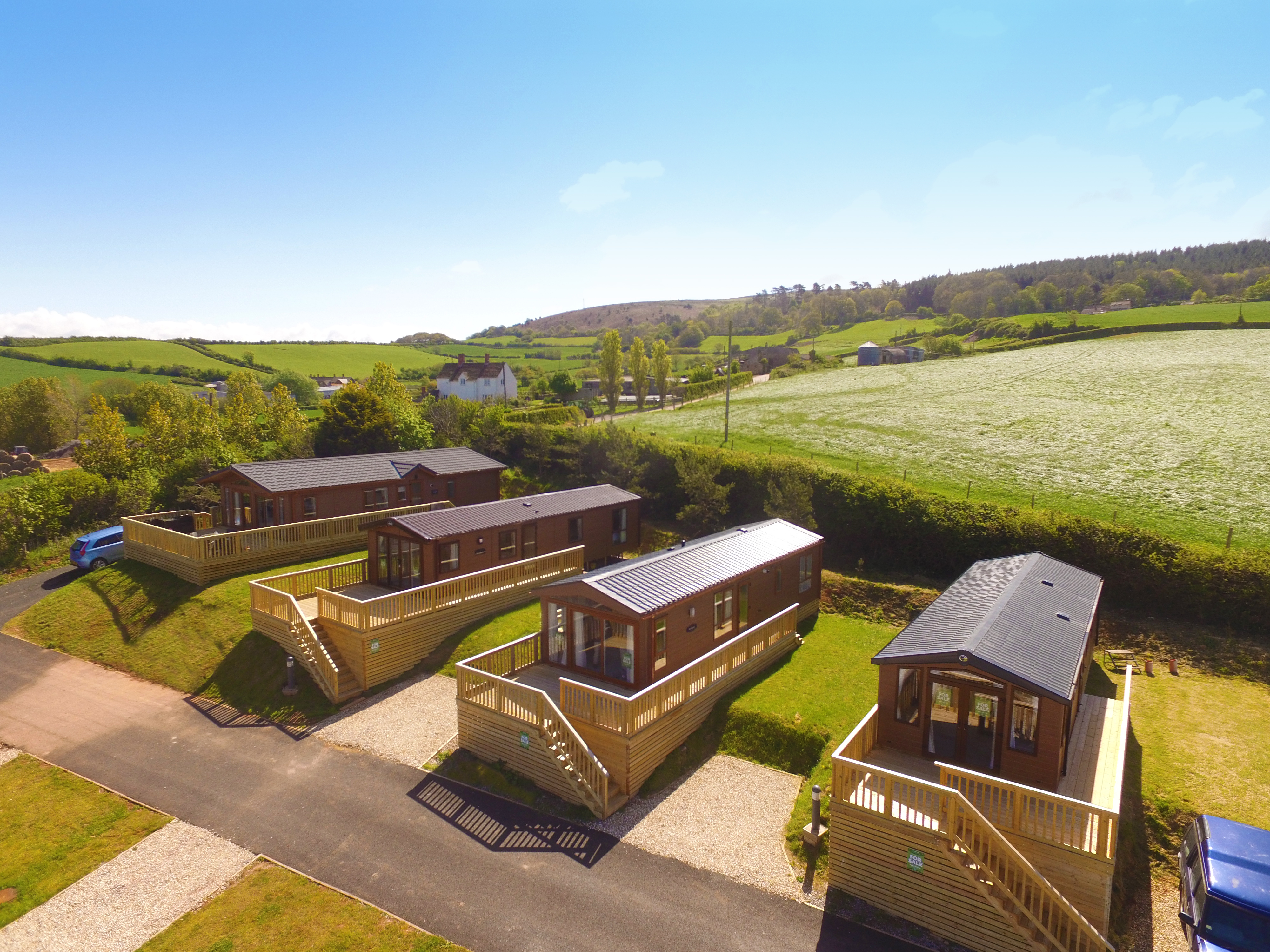 Luxury lodge for sale at St Audries Bay Holiday Club