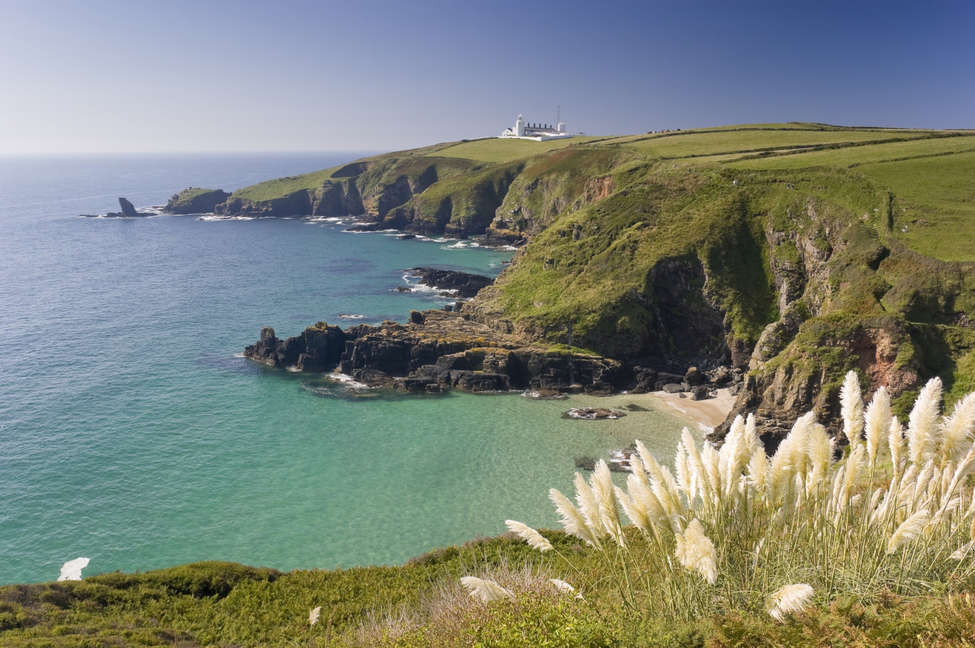 Photo of the Cornish coastline - UK's favourite holiday destination