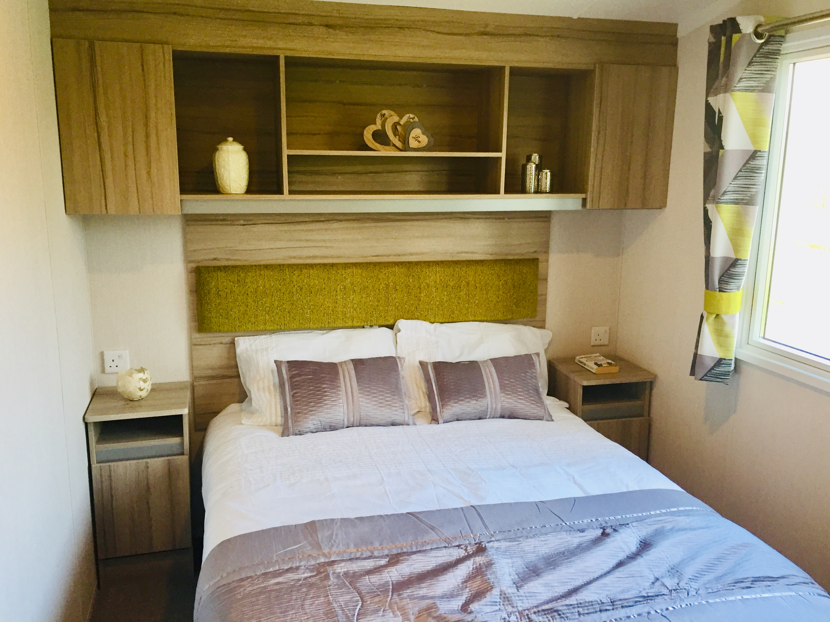 The new Swift Ardennes is ready to view at Smytham Holiday Park, North Devon.