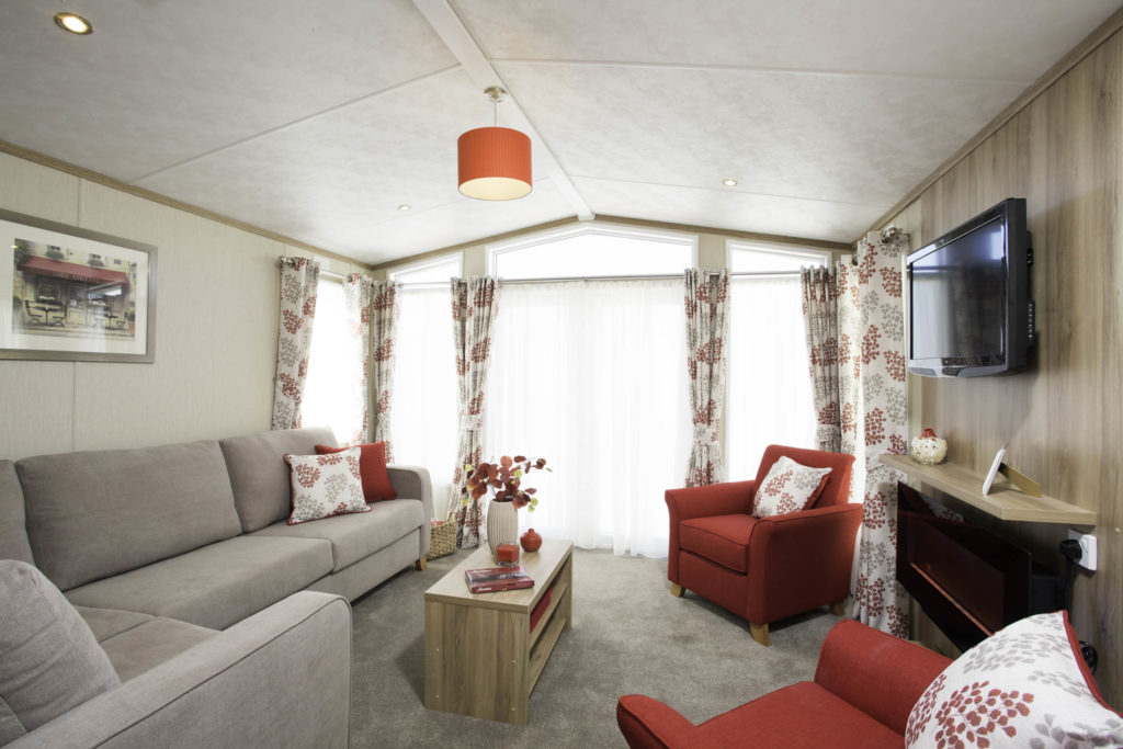 Static caravan for sale in Somerset