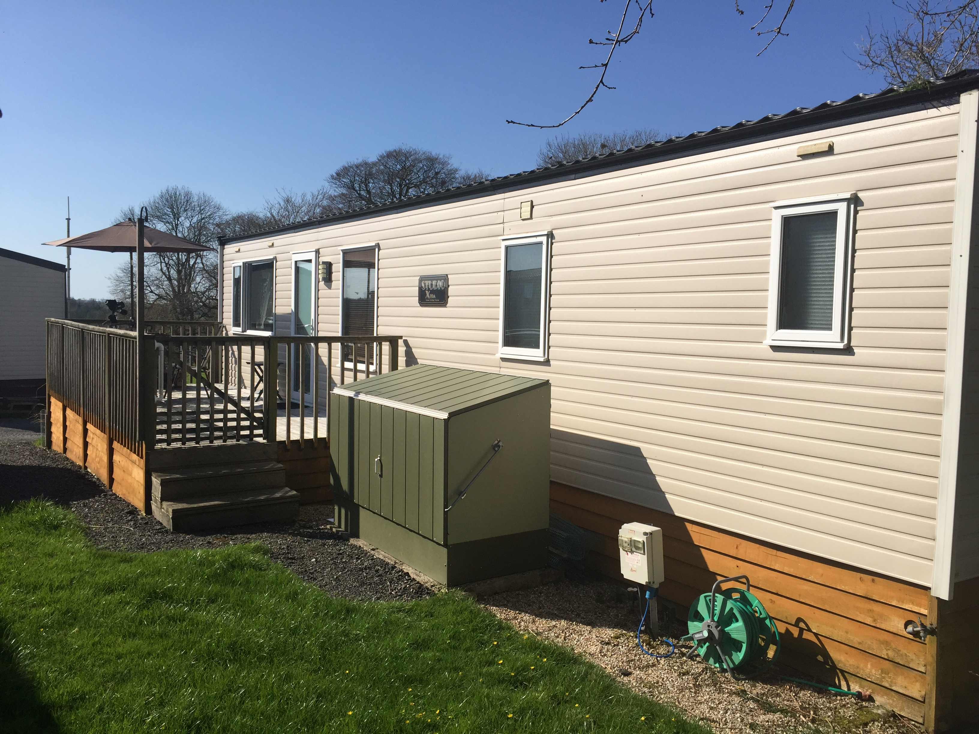 The 2007 Cosalt Studio Extra is now ready to view at Smytham Holiday Park in North Devon
