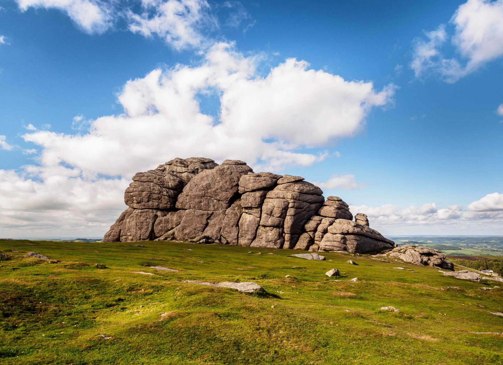 Haytor - One of Dartmoor's most famous beauty spots