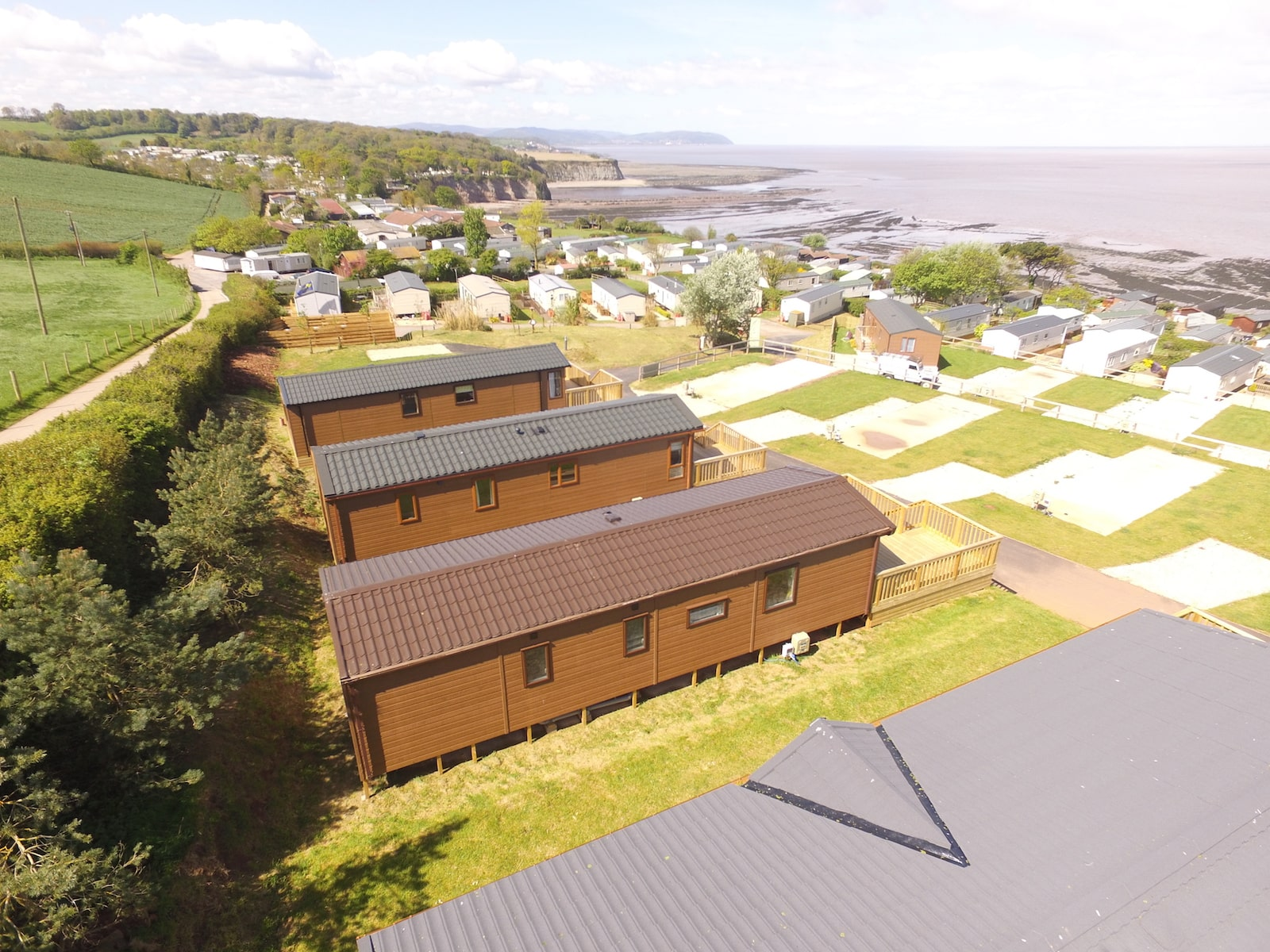 Luxury lodges for sale at St Audries Bay Holiday Club