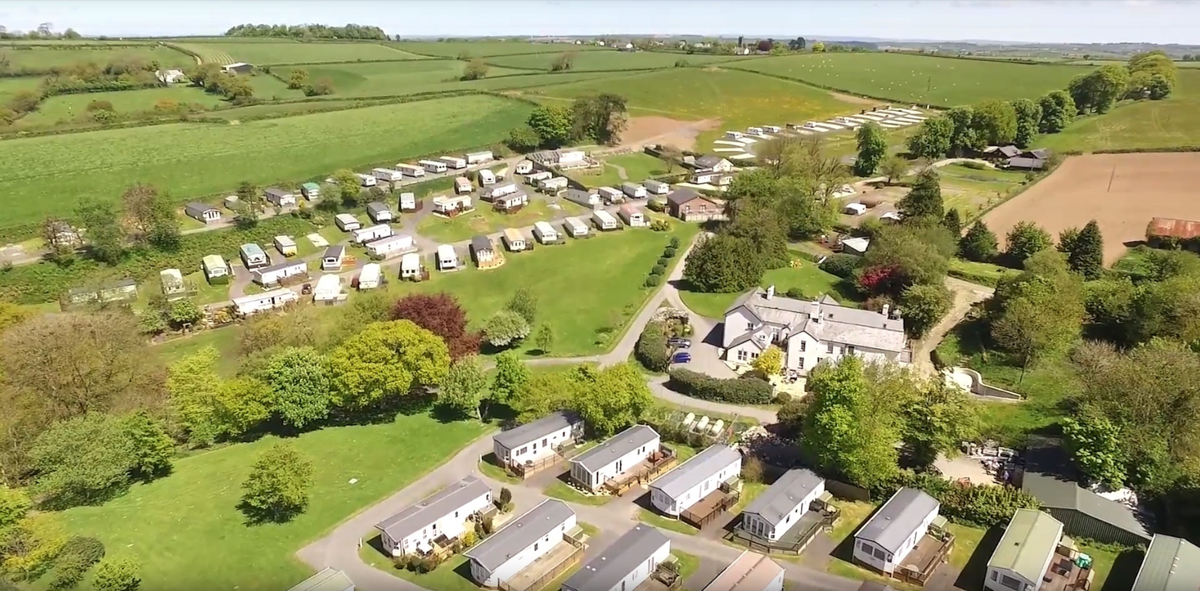 Smytham Holiday Park aerial picture