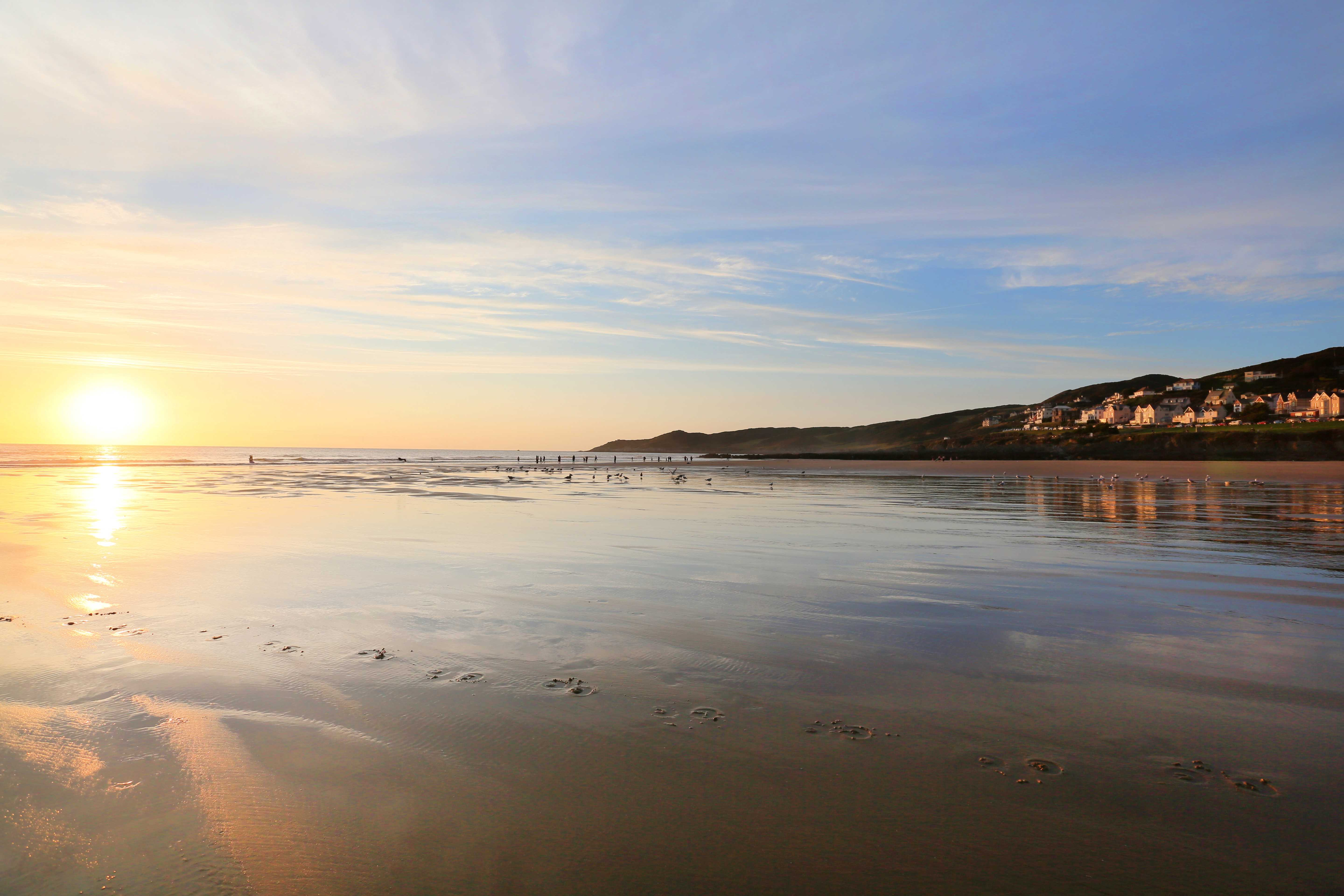 Romantic Things to Do in Devon - Woolacombe Beach
