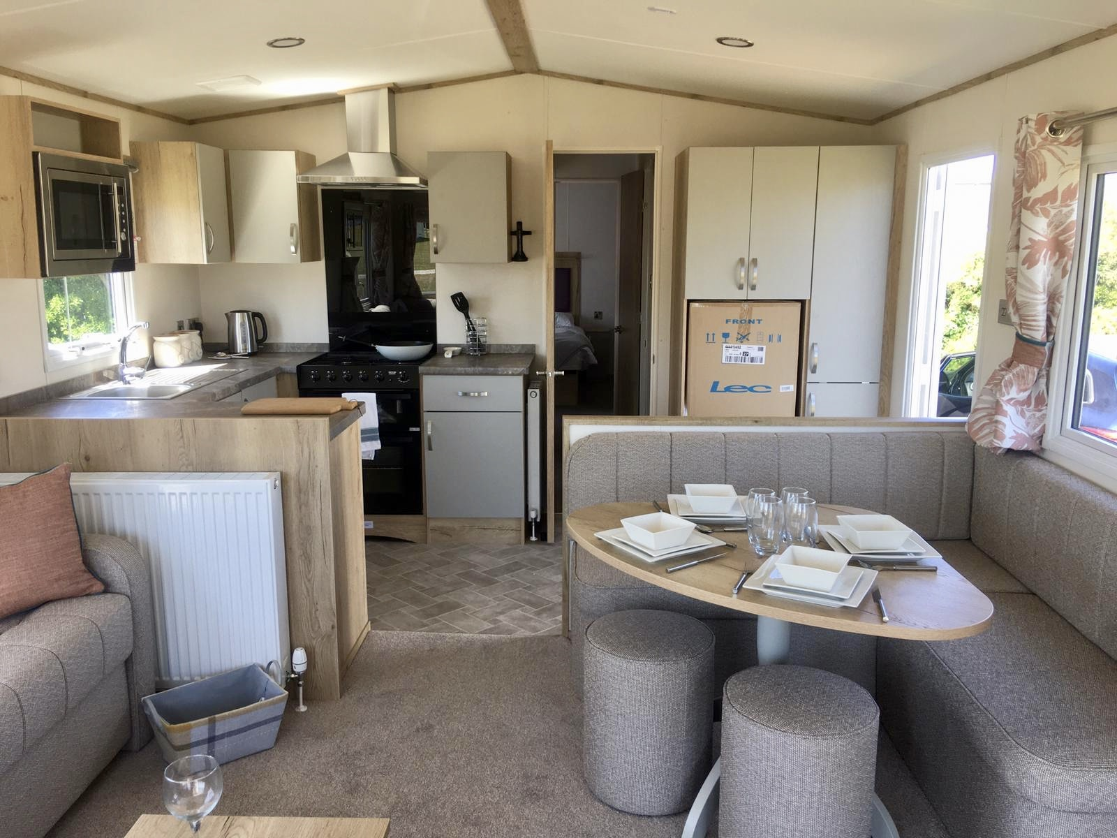 Luxury static caravan for sale Somerset