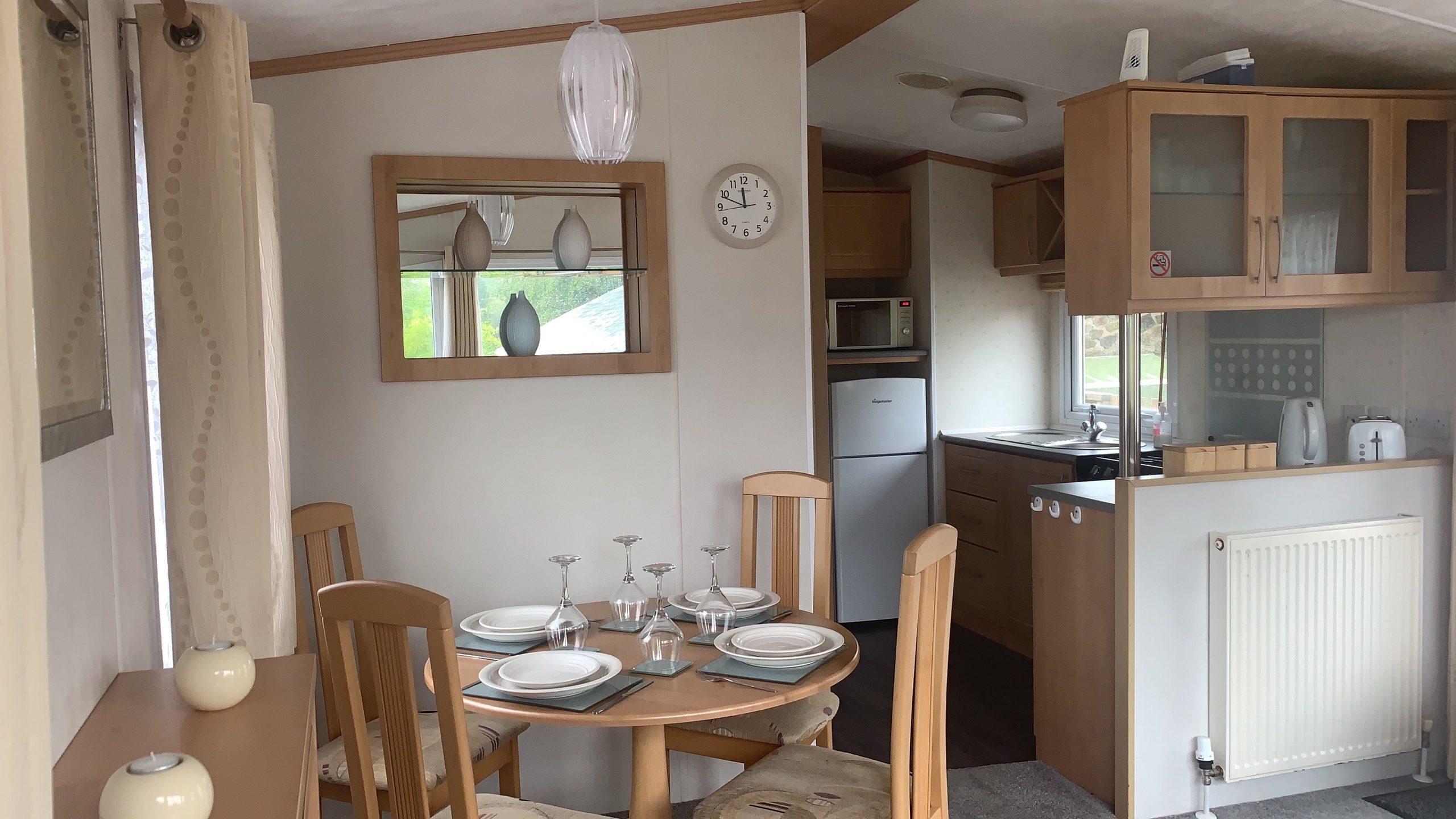 Used static caravan for sale in Devon