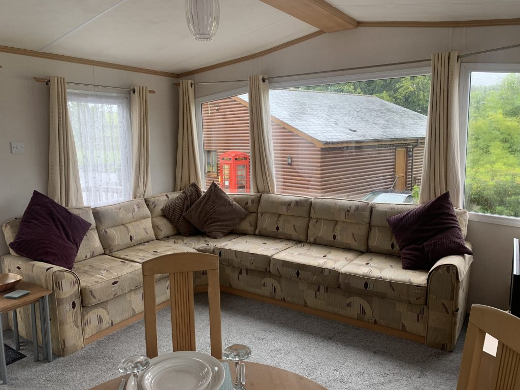 Used static caravan for sale in Devon