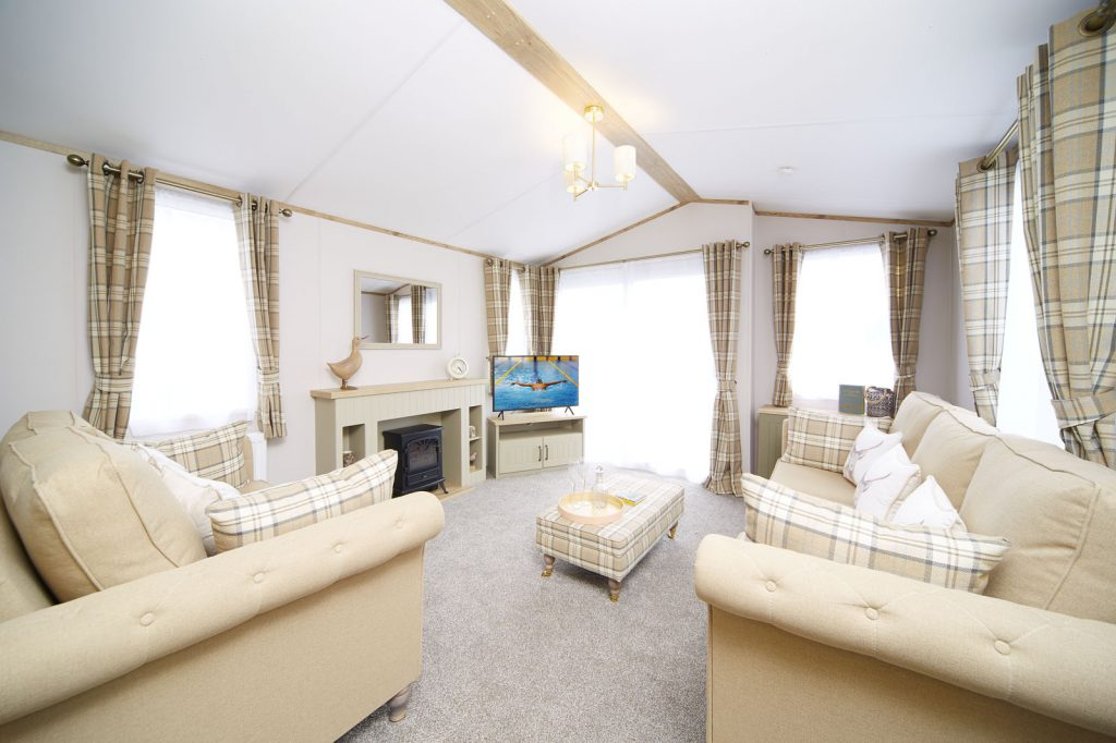 New luxury caravan for sale in North Devon