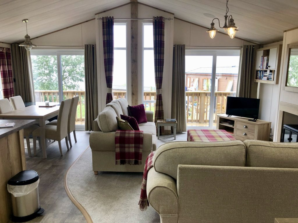 Luxury Twin Lodge for sale in Somerset